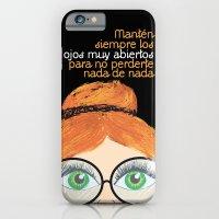 iPhone & iPod Case featuring Con los ojos muy abiertos! by Golosinavisual