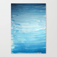 Cool Face Of The River Canvas Print