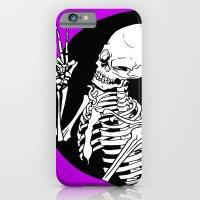 Skeleton Wink iPhone 6 Slim Case