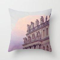 Sunset At Versailles Throw Pillow