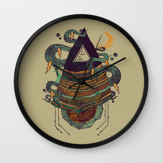 Positive Thinking Wall Clock