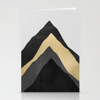 Four Mountains Stationery Cards