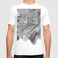 Blob SMALL Mens Fitted Tee White