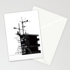 French rooftops Stationery Cards