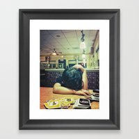 Disbelief Of First Uno W… Framed Art Print