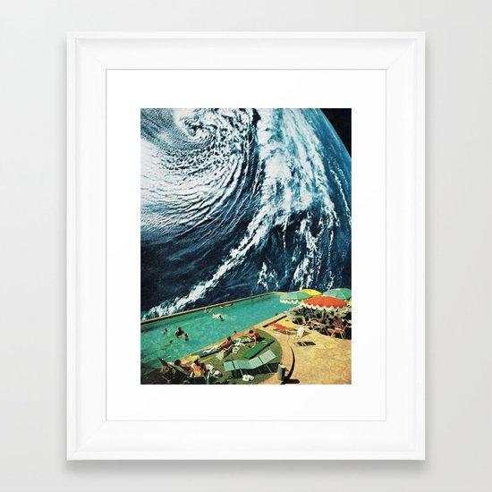 VISIONS Framed Art Print