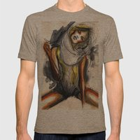 No7 Mens Fitted Tee Tri-Coffee SMALL