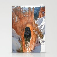 Natural Bridge - Bryce Canyon Stationery Cards