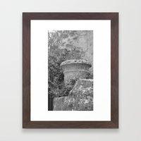 Roman Jar Framed Art Print