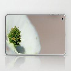 White Flower Laptop & iPad Skin