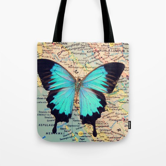 Flying home! Tote Bag