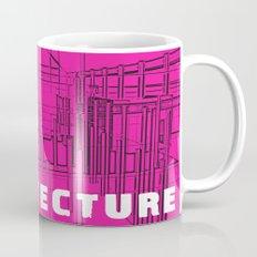 Architecture Pink Mug