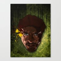 a study in Stark Canvas Print