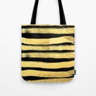 Sochie - Black Gold Mini… Tote Bag