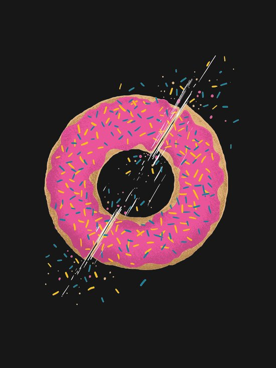 Donut Slices Canvas Print