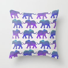 Follow The Leader - Pain… Throw Pillow
