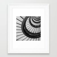 Rookery Stairs Framed Art Print