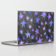 Starry Night {grey} Laptop & iPad Skin