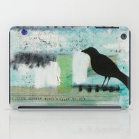 Blackbird Singing iPad Case