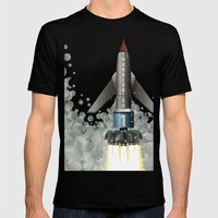 Thunderbird 1 Mens Fitted Tee Black SMALL
