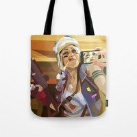 Tank Girl Tote Bag