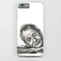 bill murray iPhone & iPod Cases featuring Bill Murray  by Rachel Morgan Smith
