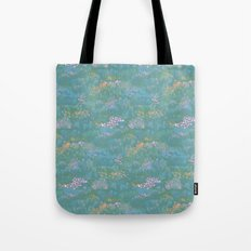 Blue Life in Death Valley Tote Bag