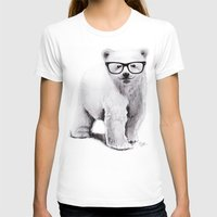 Polar Disorder Womens Fitted Tee White SMALL