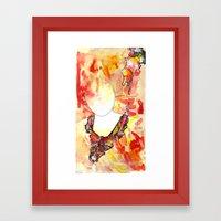 New Eyed Girl Framed Art Print