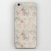 Faded Rose iPhone & iPod Skin