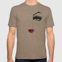 LADY II Mens Fitted Tee Tri-Coffee SMALL
