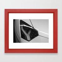 Aventador Framed Art Print