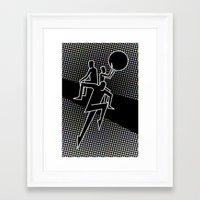 D3 Framed Art Print