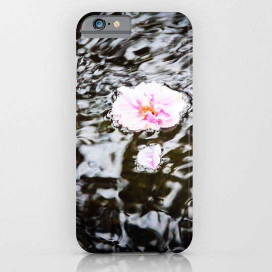 Cherry Blossoms on the Water iPhone & iPod Case