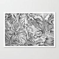 Metamorphose Canvas Print