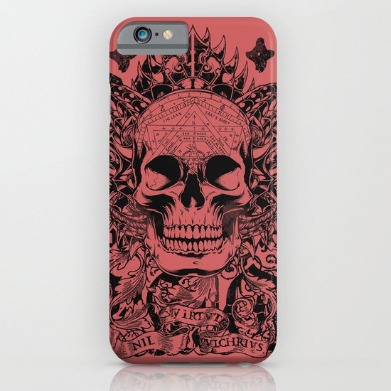 Cobra skull iPhone & iPod Case