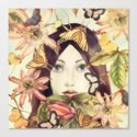 Whispers From A Secret Garden Canvas Print