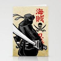 Debate Over: Pirates vs. Ninjas Stationery Cards