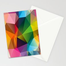 Geometric view Stationery Cards