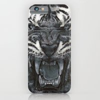 iPhone Cases featuring Tiger Roar! - By Julio Lucas by Julio Lucas