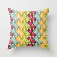 Hearts For Hearts. Throw Pillow