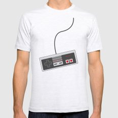 Nintendo NES Game Contro… Mens Fitted Tee Ash Grey SMALL
