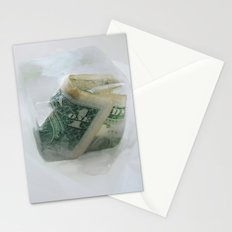 1 frozen dollar Stationery Cards