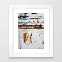 Rust Study Framed Art Print