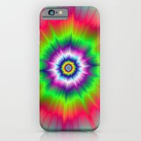 iPhone & iPod Case featuring Explosive Tie-Dye by Objowl