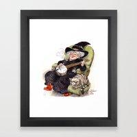 Nanny Framed Art Print