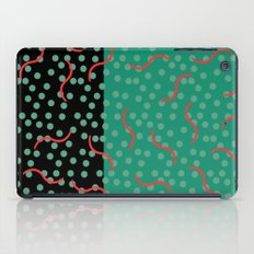 squiggles and dots iPad Case