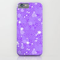 Picnic Pals floral in blueberry iPhone 6 Slim Case