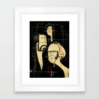 乐 Music v.2 / Vintage / Musicians Framed Art Print
