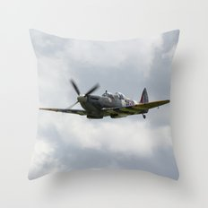 Spritfire Mk9 Throw Pillow